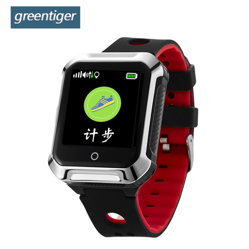 Greentiger GPS A20S Smart Watch BDS WIFI Locating Heart Rate Monitor Pedometer Smartwatch Fitness Tracker for