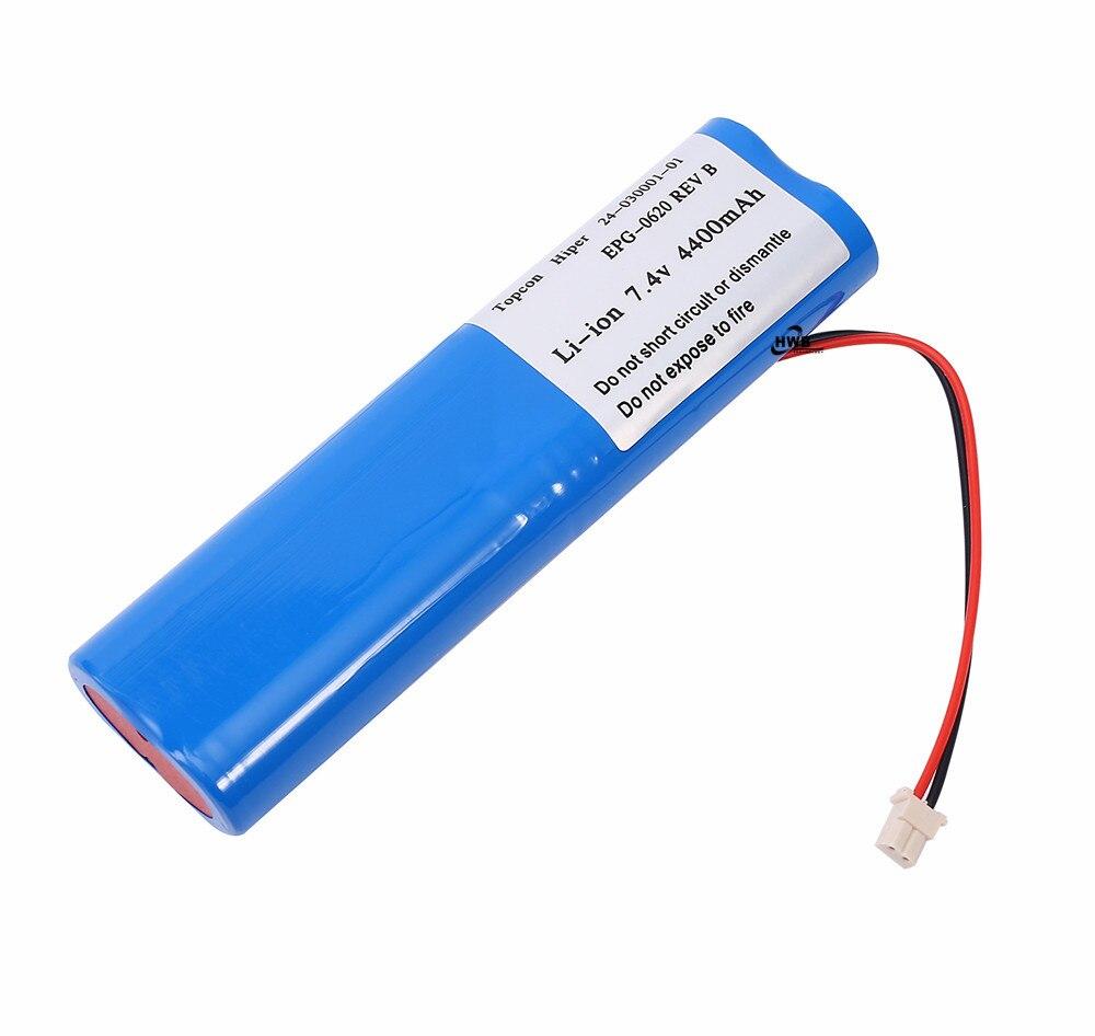 1pc NEW Topcon Hiper Li-ion Battery 24-030001-01 For Topcon Hiper GPS 7.4V 4400mAH