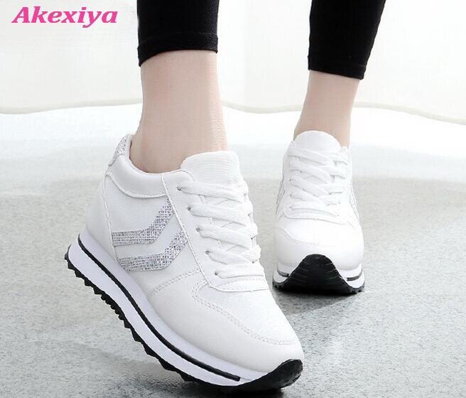 shoes woman sneakers 2019 trend Wild flat shoes women black white Gladiator brand design women s