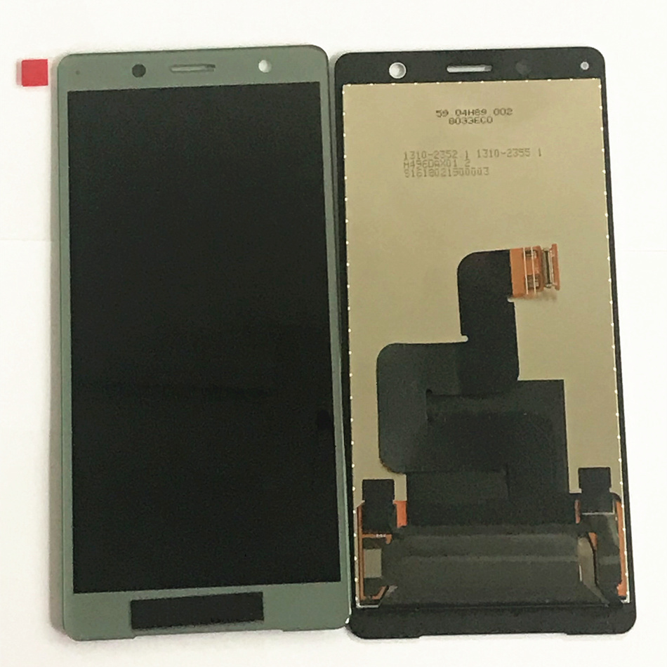 Nouveau original 5.0 ''pour Sony Xperia XZ2 Compact LCD écran tactile numériseur assemblée remplacement pour Sony XZ2 Mini LCD