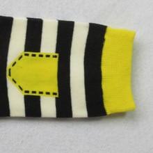 Women's Cotton Striped Socks 5 Pairs Set