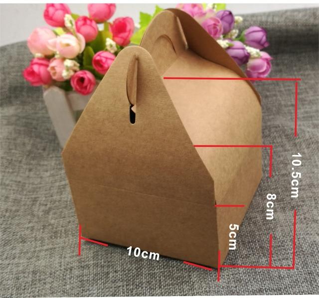 12 Teilelos Kraftpapier Kasten Für Kuchen Und Süßes Geschenk