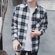 Plaid Shirt Long sleeve jacket PU27