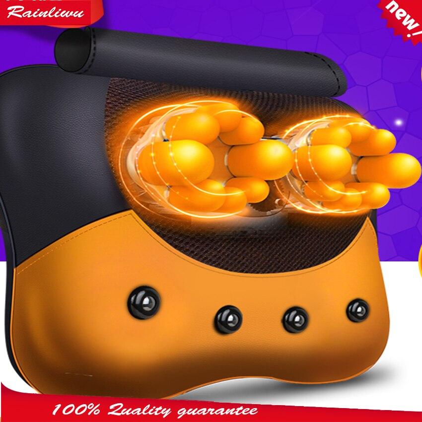 5D Massage pillow Cervical vertebra massage instrument Neck waist back massage device 5D massage head health care master