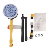 Car Wash Switch Water Flow Foam Brush Portable Car Washer Automatic Washing Brush Professional Rotating Brush