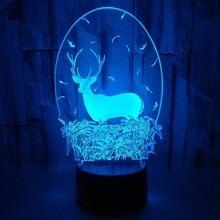 À Petits Vente En 3d Deer Des Lamp Gros Achetez Lots Galerie 5R4ALq3j