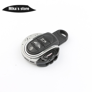 Image 5 - ABS JCW Style Car Key Protective Cover Fob Case Key Chain For mini cooper F54 F55 F56 F57 F60 Car styling Key Cover JCW Pattern