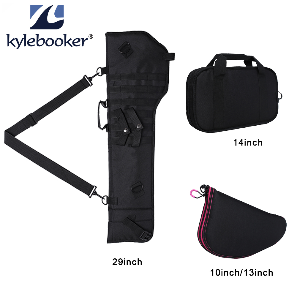 Military Hunting Shooting Airsoft Pistols Bag Pistol Case Accessories Storage Gun Bag Or Tactical Rifle Shotgun Scabbard