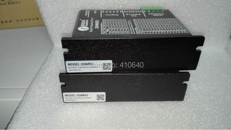 Leadshine 3DM683 3-Phase 32-Bit DSP Digital Stepper Drive with 20-60 VDC Input Voltage and Max 8.3A Output Current leadshine dcs810 brushed servo drive with max 80 vdc input voltage and 20a peak current