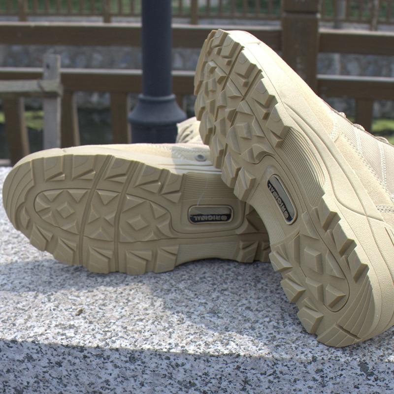 Muškarci Vojni borbeni čizme Vanjski Vodootporni Desert taktički - Muške cipele - Foto 4