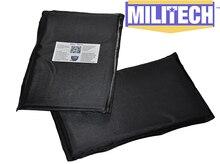"Bulletproof Aramid Ballistic Panel Bullet Proof Plate Inserts Body Armor Cummerbund Side Panel NIJ Level IIIA 3A 6"" x 10"" Pair"