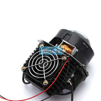 "RONAN Car Styling 3.0\""universal Bi LED Projector Headlights Lens OS-RAM Chip Super High Low Beam 5500K Auto Headlamp Retrofit"