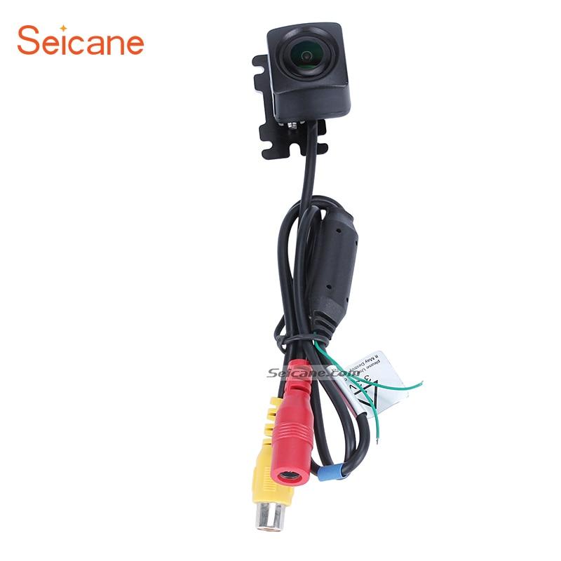 Seicane marché secondaire universel HD voiture rétroviseur/sauvegarde/caméra de stationnement super étanche pour lecteur d'unité de tête d'autoradio