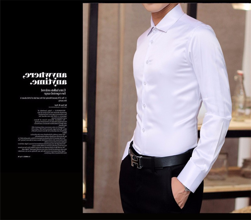 HTB1Xg4BNpXXXXXKXXXXq6xXFXXXW - Plus Size 5XL New Men's Luxury Shirts Wedding Dress Long Sleeve Shirt Silk Tuxedo Shirt Men Mercerized Cotton Shirt