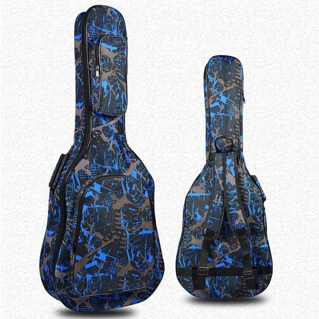Gitaar Bag Tas Canvas Wind Zakken 40 Ukelele Schouderriem Met Instrument ''ukulele Tassen Nationale Dubbele drhsQxBtC