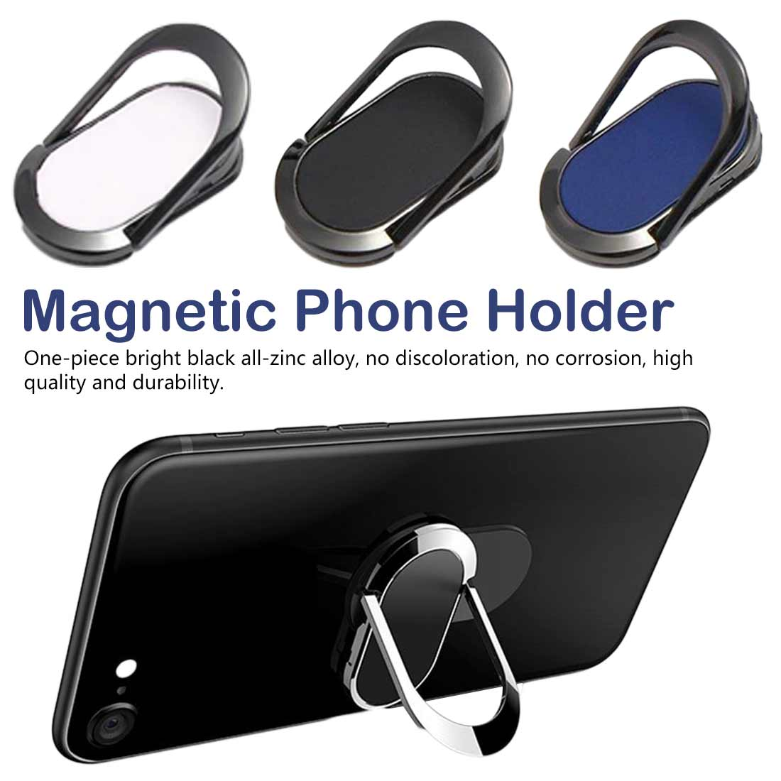 Ring Holder Bracket Metal Finger Mobile Phone Magnetic Rotate Stand Ring Magnetic Phone Holder(China)