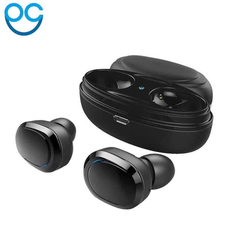 OGV T12 TWS auricular Bluetooth Mini Bluetooth V4.1 doble auricular auriculares inalámbricos Kulakl k Casque para AAPLE
