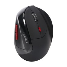 HXSJ X60 2.4Ghz Wireless Optical Vertical 2400DPI Gaming USB Mouse Rechargeable Gaming Mice Mouse For Laptop for PC Gamer