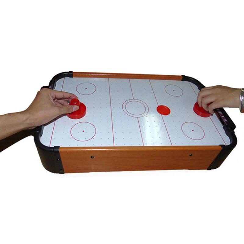 Table de Hockey sur Air en plastique MDF Portable pour divertissement familial fête d'anniversaire cadeaux de noël jouet de Hockey Portable - 6