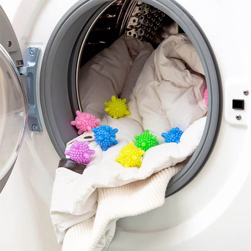 6pcs Reusable Laundry Balls Anti Winding Eco Friendly Magic