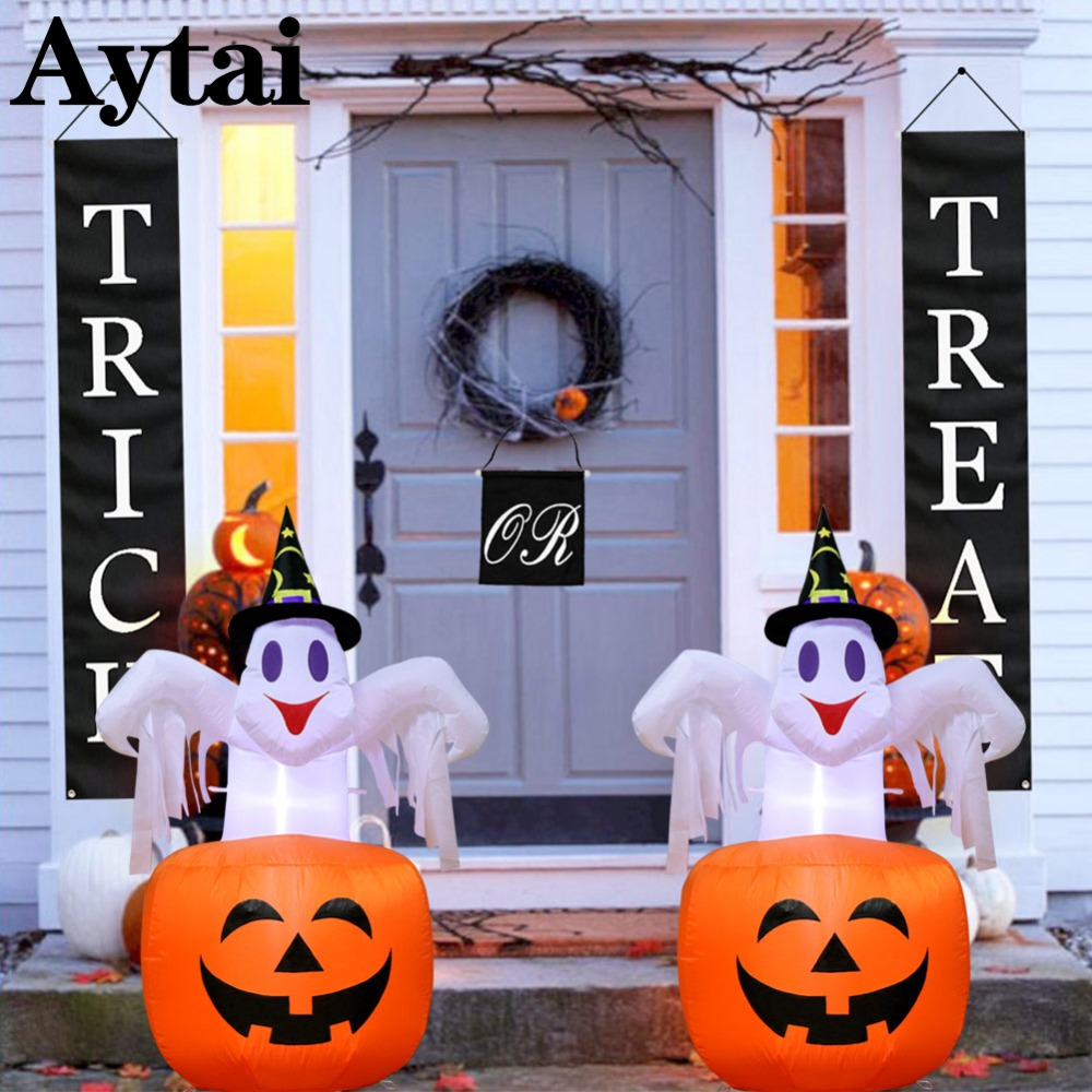 Aytai New Halloween Scary Party Scene Props Haunted House
