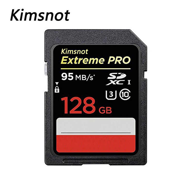 Kimsnot Extreme Pro 633X32 Gb Sdhc Kaart 256 Gb 128 Gb 64 Gb 16 Gb Sd Sdxc Kaart geheugenkaart Class10 Hoge Snelheid 95 Mb/s Voor Canon Nikon