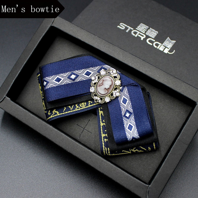 New Men's Bow Tie Tuxedo Bowtie Unique Mens Polyester bow ties men clothing accessories for wedding Business Shirts tie