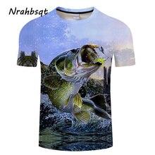 NRAHBSQT Наружная Мужская 3D печатная рыболовная футболка быстросохнущая Спортивная рубашка с короткими рукавами для мужчин рыболовная одежда FC014