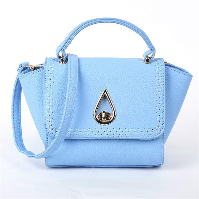 new package embossed leather bat wings cheap small portable shoulder diagonal lock bag handbag casual women high price package