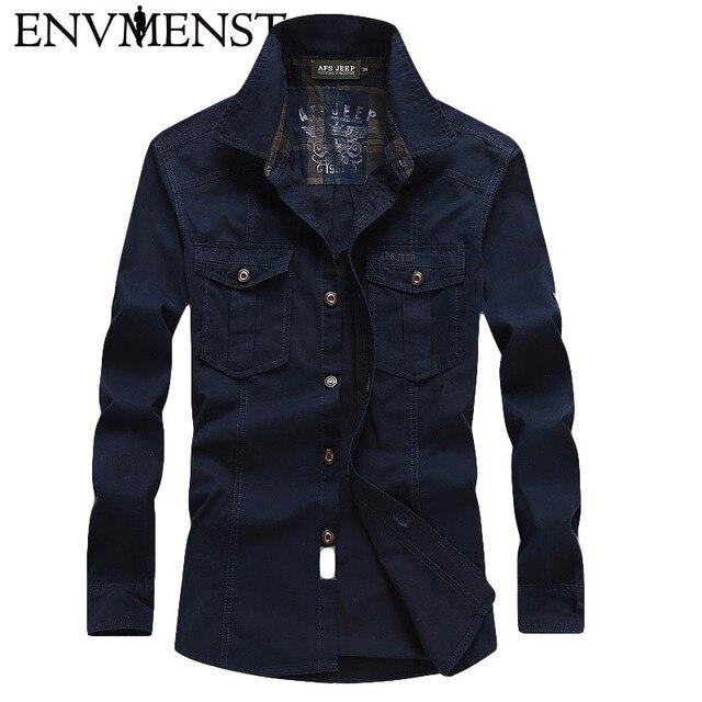 4b302ebee7 2017 Novos homens denim camisa de mangas compridas camisa masculina camisa  camisa de vestido de homens