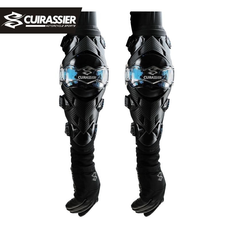Cuirassier Elbow Pads Motocross Protection Motorcycle MTB Off-Road Kneepad MX Knee Guards Protection Dirt Bike Brace Protector