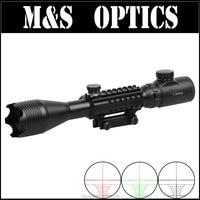 4-10X50 IRG Rood Groen Verlichting Airguns Optische Sight Riflescope Jacht Geweren scope Voor Airsoft Air Pistol Gemaakt In China