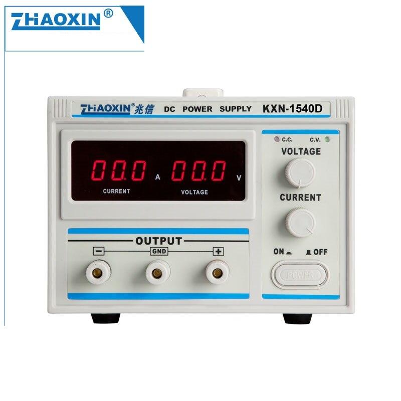 цена на ZHAOXIN KXN-1540D Series High-powerDC Power Supply Single output 0-15V 0-40A