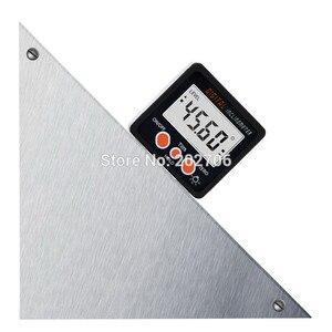 Image 2 - Inclinómetro Digital para transportador, caja de nivel, herramienta de medición de nivel, medidor de ángulo electrónico, buscador de ángulo, Base magnética