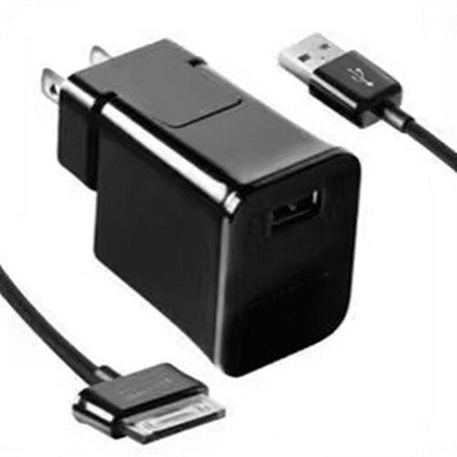 """Cable de cargador de pared de viaje con enchufe de EE. UU./UE para Samsung Galaxy Tab 2 Tablet 7/8. 9/10,1"""""""