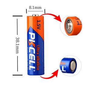 Image 3 - 20PCS PKCELL 1.5V Battery AAAA LR61 AM6 Alkaline Battery  E96 Dry&Primary Battery Batteries for stylus pen remote control etc