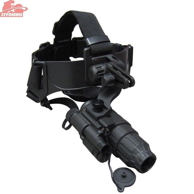ZIYOUHU PULSAR 1X20 G1 + singolo-tubo tipo di casco visione notturna a raggi infrarossi dispositivo di caccia Libera Il trasporto