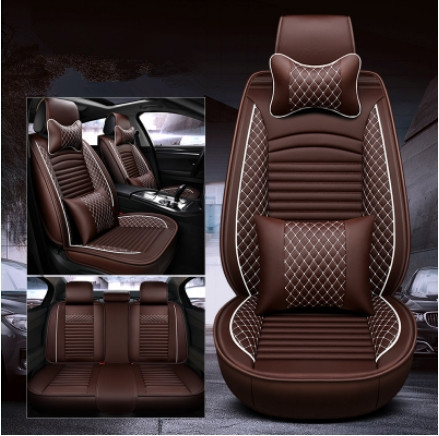 Meilleure qualité! Ensemble complet de housses de siège de voiture pour Jeep Grand Cherokee WK2 2018-2010 confortable durable eco housses de siège, livraison gratuite