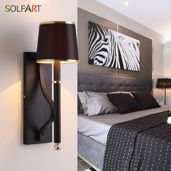 Wandlamp Lampada Slaapkamer Naast Wandlamp Thuis Indoor Decoratie Verlichting Gang Aluminium Wandlamp