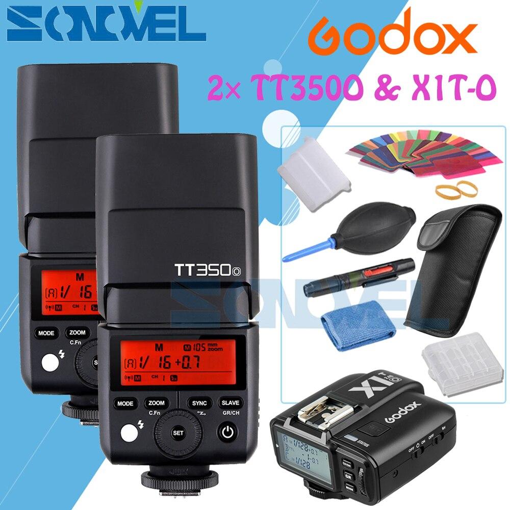 GODOX TT350o 2.4G HSS 1//8000s TTL GN36 2X Camera Flash Speedlite X1T-O TTL 1//8000s HSS 32 Channels 2.4G Flash Trigger Transmitter Compatible for Olympus//Panasonic Mirrorless Digital Camera