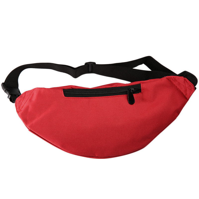 b472fdfd2eb1 US $3.99 |OUTAD Outdoor Sport Running Hiking Bum Bag Woman Man Fanny Pack  Travel Handy Waist Bag Money Belt Zip Pouch Wallet Plain-in Climbing Bags  ...