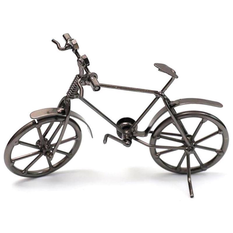 2018 new retro bike model metal crafts creative birthday. Black Bedroom Furniture Sets. Home Design Ideas