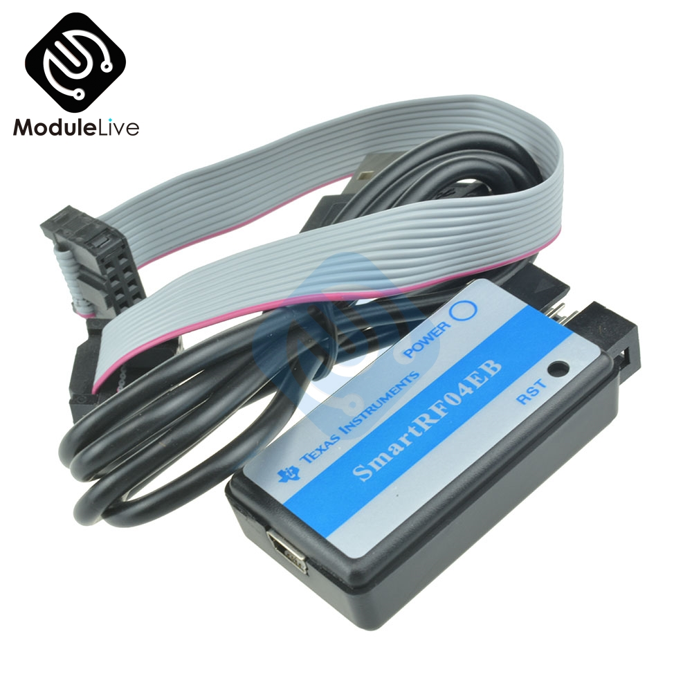 1Pcs SmartRF04EB CC1110 CC2530 ZigBee Downloader Emulator USB ZigBee MCU M100 Module