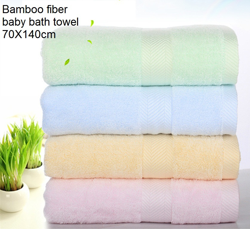 2016 New High Quality Bamboo 70X140 Breathable Bath Towel H1258 Bambooee Reusable Bamboo Towel
