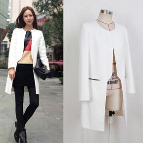 Popular White Coat Fashion-Buy Cheap White Coat Fashion lots from ...