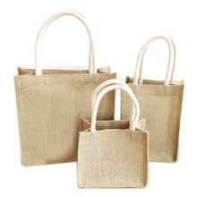 Simple Women Linen Luxury Tote bags Fashion Trend Foldable S