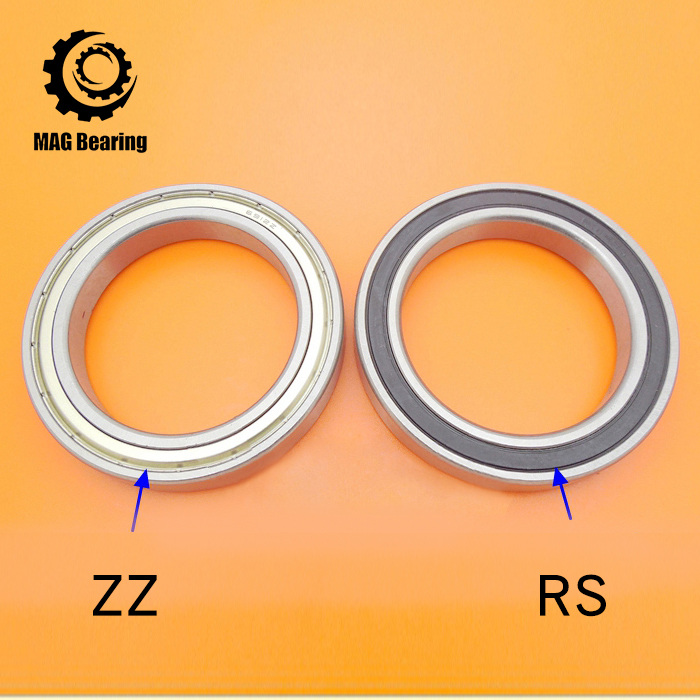High Quality Think Section Deep Groove Ball Bearing 6817ZZ Metal Shielded Ball Bearing 61817-2Z 6817 80X100X10MM 10pcs 5x10x4mm metal sealed shielded deep groove ball bearing mr105zz