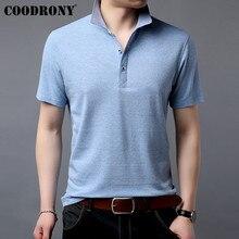 COODRONY Brand Soft Cotton T Shirt Men Classic All-match Short Sleeve T-Shirt Summer Streetwear Casual Mens T-Shirts S95061