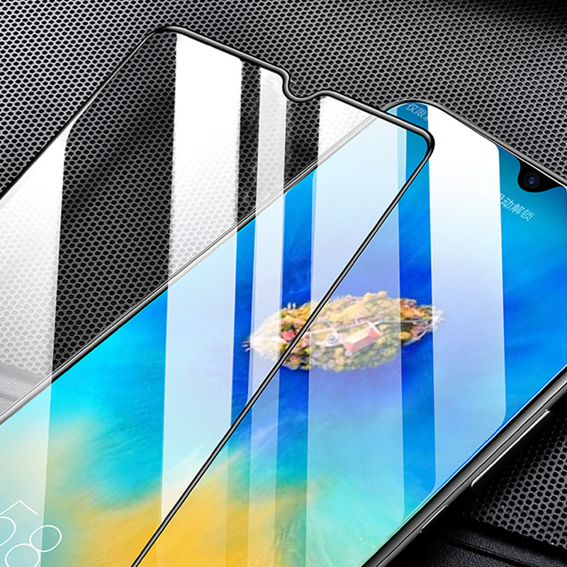 newest 5d protector screen and tempered glass for huawei honor 10 lite 8a 8c 8x v20 view 20 p smart 2019 film full 3d in Phone Screen Protectors from Cellphones Telecommunications