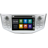 2 din 7 Car DVD Player GPS Navigation for 2003 2004 2005 2006 2007 2010 Lexus RX 300 330 350 400H with Bluetooth Support USB SD